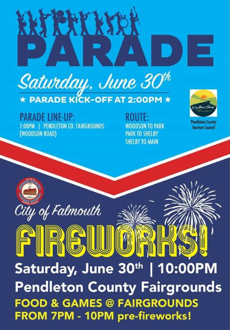Parade, Saturday, June 30th